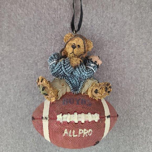 Football Christmas Ornament - Knute...Half-time